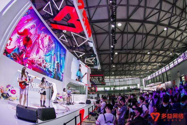 玩创未来 2021Chinajoy多益网络上海之行圆满收官