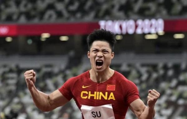9.83秒刷新亚洲记录后 苏炳添的手势是什么意思