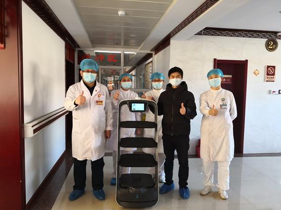 《深圳特区报》眼中的普渡机器人:科技向善,抗疫先锋