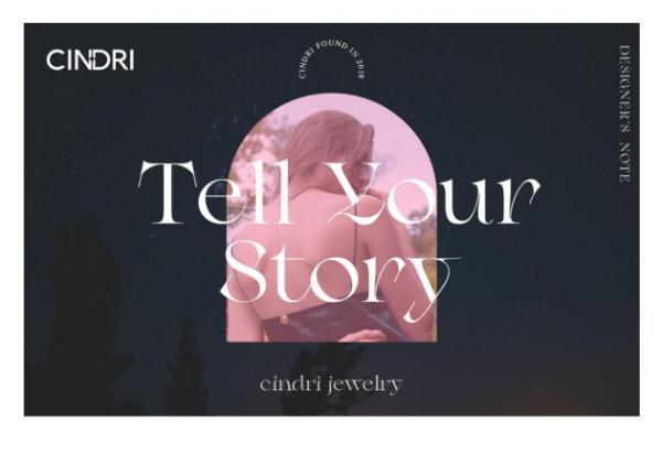 CINDRI莘德瑞格主义:原创时尚珠宝首饰,用舒适的状态将时尚带入生活!