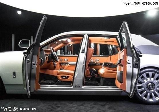 全新劳斯莱斯幻影加长版第八代车型实拍