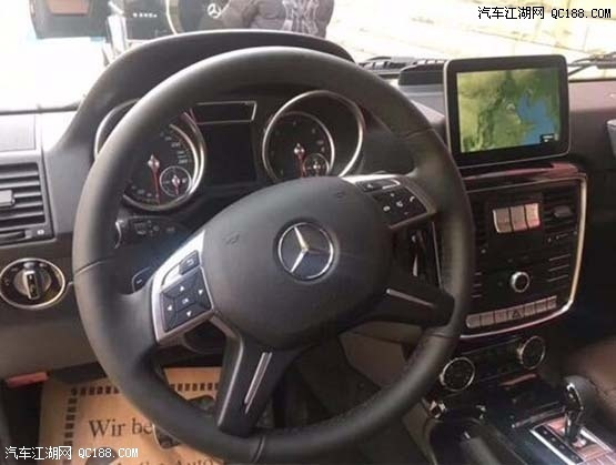 进口2018款奔跑G350柴油版黑色现车报价