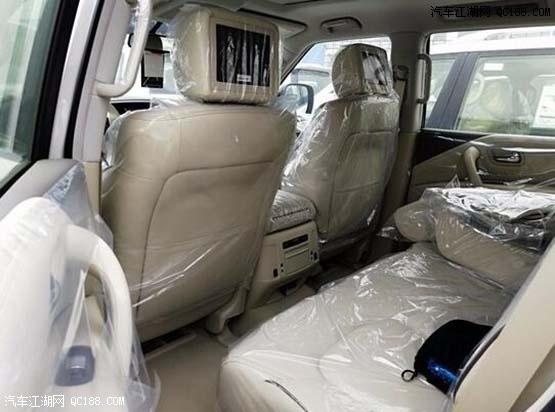 2018款日产途乐Y62全尺寸SUV中东版评测