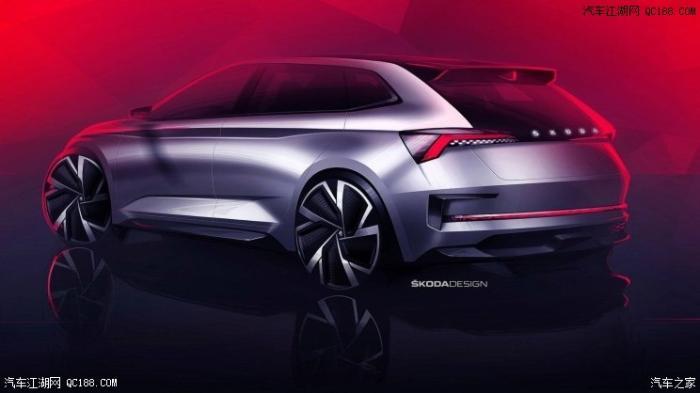 全新斯柯达VISION RS概念车设计图曝光