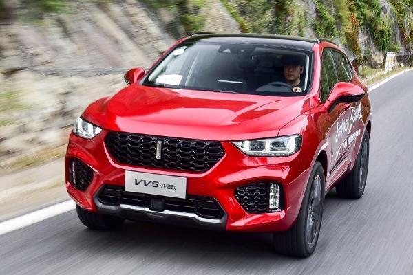 新车增加四驱系统 WEY VV5升级版评测