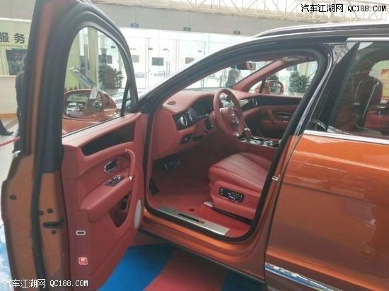 18款宾利添越4.0T V8四座欧规版现车价格