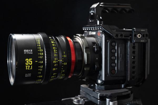 美科35mm T2.1全画幅电影镜头正式发布