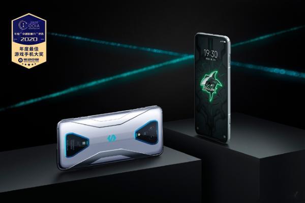 荣获驱动中国年度最佳游戏手机大奖 腾讯黑鲨游戏手机3 PRO图赏