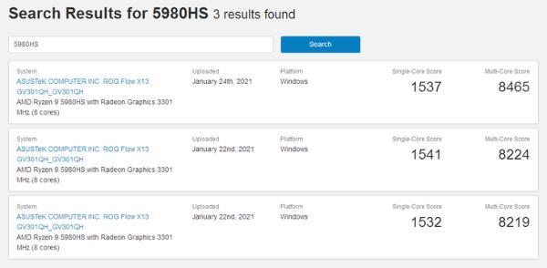 AMD移动处理器太神奇了!瑞龙9 5980HS跑曝