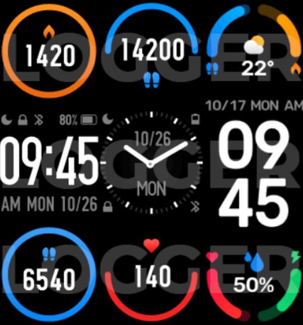 小米手环 6 曝光:更大的屏幕,支持血氧检测
