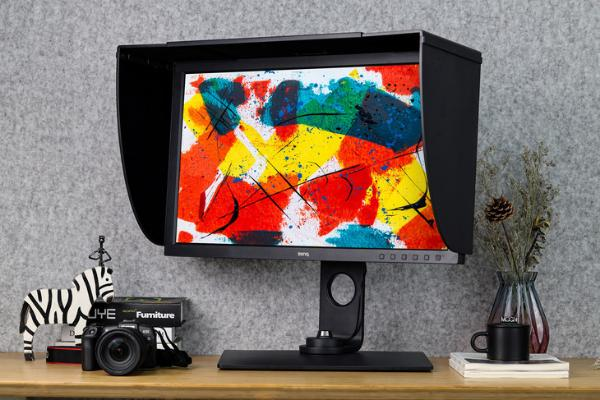24期免息!明基SW271C升级4K摄影显示器开售