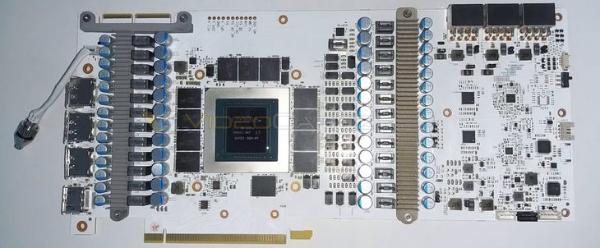 全26相电源!英驰RTX3090名人堂印刷电路板亮相