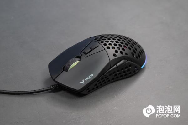 雷柏V360游戏鼠标评测:模块化设计 手感可变