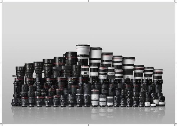 佳能宣布RF和EF可换镜镜头累计产量已达到1.5亿支