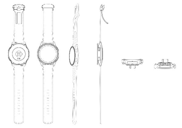 一加智能手表设计图曝光:搭载经典圆形表盘