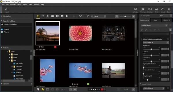 可实现照片和视频无缝浏览与编辑 尼康发布新软件NX Studio