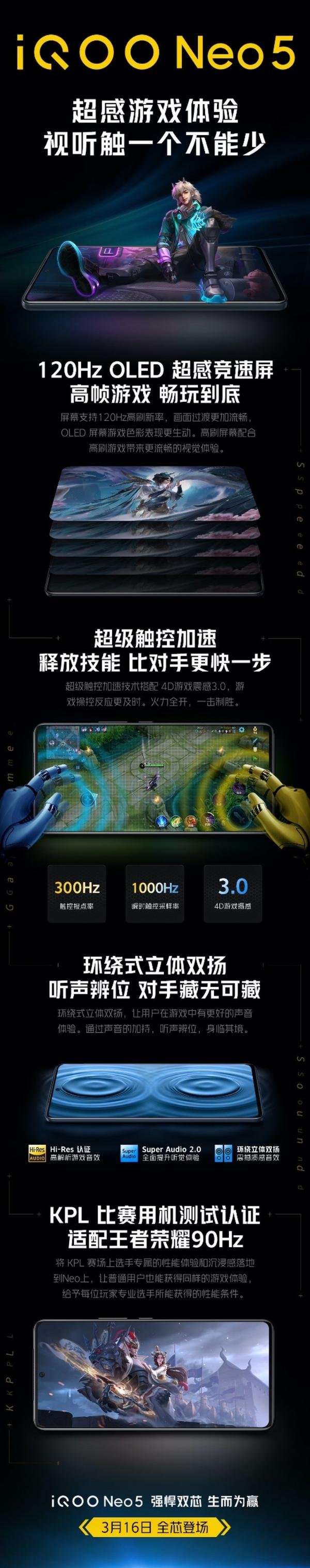 iQOO Neo 5真机爆料——轻薄机身高性能