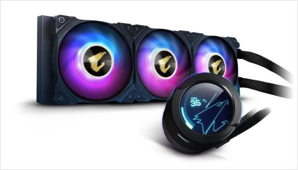 技嘉AORUS推出新款CPU水冷散热器