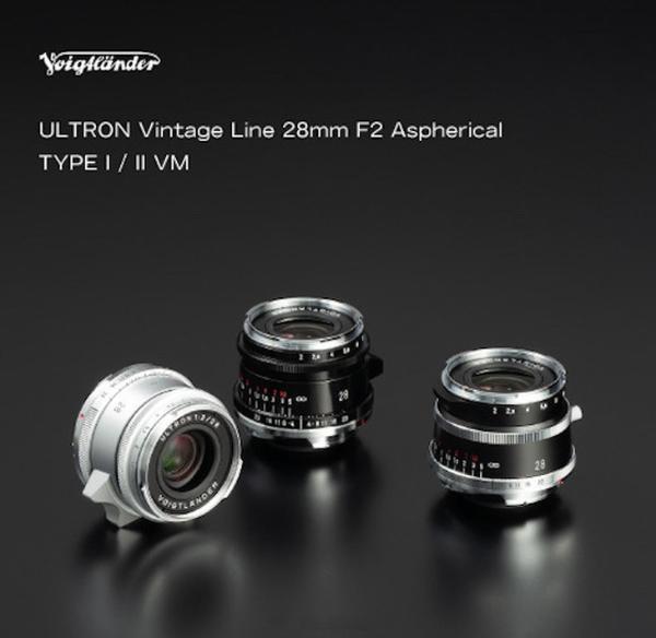 福伦达正式发布两枚新28mm F2镜头 售价不足6000元