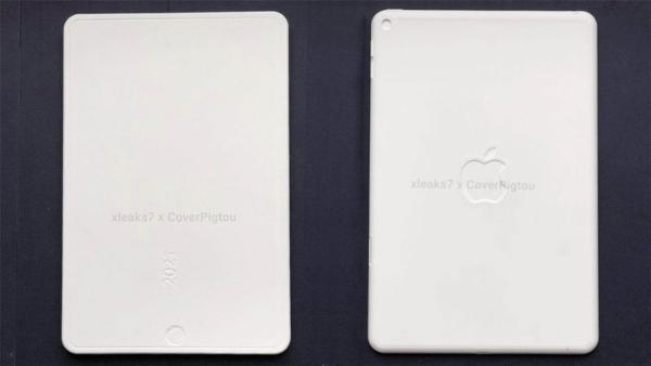 苹果 iPad mini 6 模型曝光,采用全面屏设计