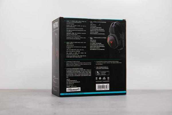 雷柏VH710游戏耳机评测:外观出众 实力不俗