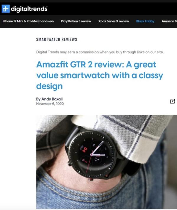口碑炸裂的华米Amazfit GTR 2系列新增eSIM功能,支持独立通话