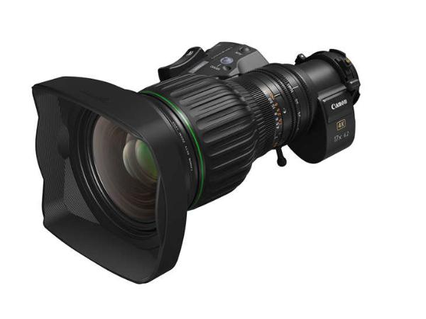 佳能推出CJ17e x 6.2B便携式4K广播级变焦镜头