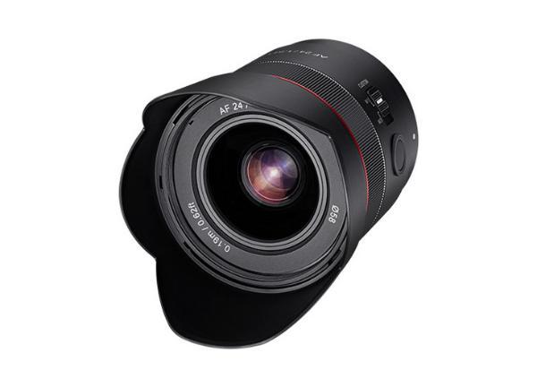 三阳正式发布AF 24/1.8 FE镜头 副厂挂机好选择