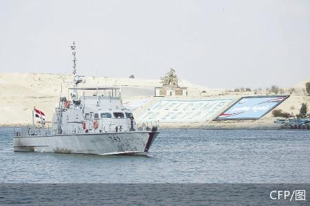 113艘集装箱货轮已通过苏伊士运河