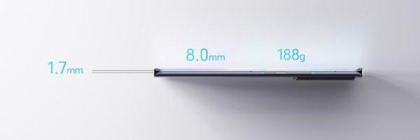 中兴Axon30 Ultra预热 采用曲面热弯玻璃后盖