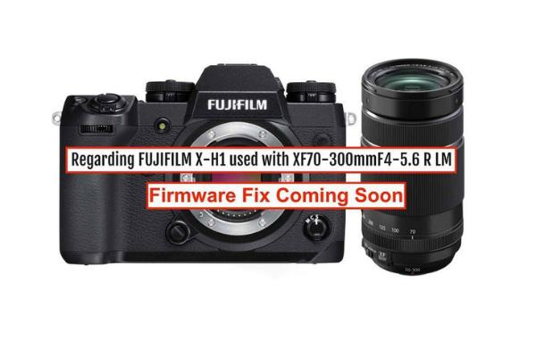 富士X-H1搭载XF70-300mm镜头后相机防抖失效?