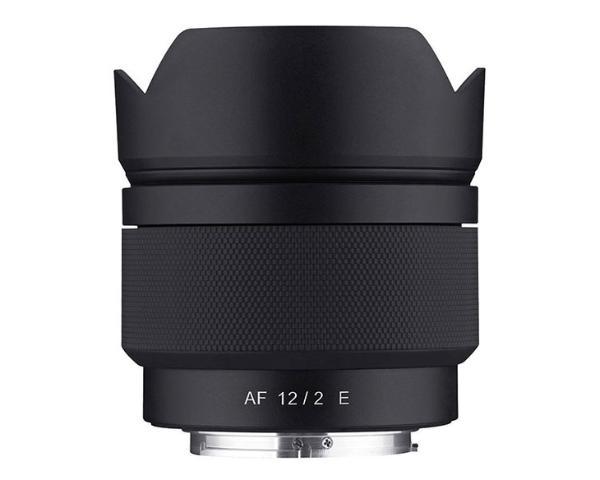 APS-C画幅微单好选择 三阳发布AF 12mm F2 E镜头