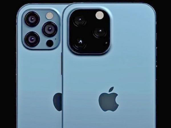 外观泄露? iPhone 13 Pro与12 Pro背面对比镜头变大不少