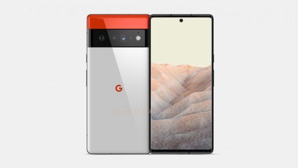 谷歌Pixel 6 Pro渲染图曝光,居中打孔曲面屏