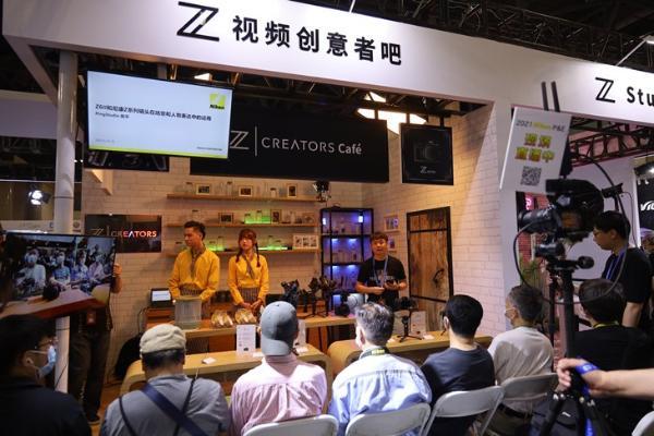 P&E2021:尼康展台Z系列全画幅微单人气高