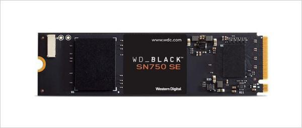 西部数据推出WD Black 750 SE固态硬盘