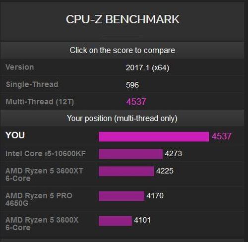 AMD锐龙7 5700G和锐龙5 5600G跑分曝光