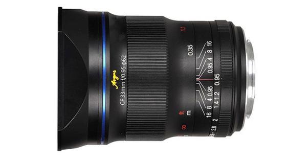 老蛙33mm F0.95 AP大光圈镜头或在近期发售