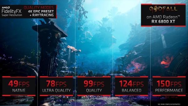 AMD FSR技术发布:免费提升帧率,N卡也能用