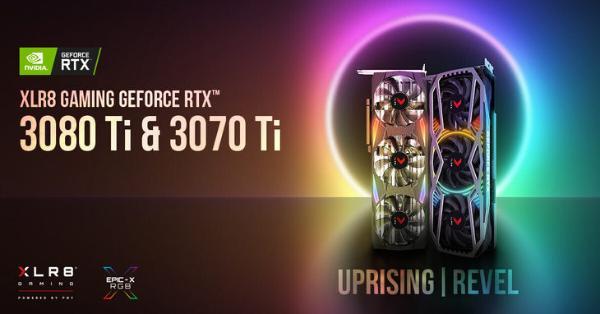美商PNY发布RTX3080Ti和3070Ti显卡