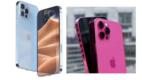 iPhone13新配色曝光,加入粉蓝与玫瑰粉配色