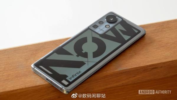 传音Zero X概念手机曝光:160W快充+电致变色