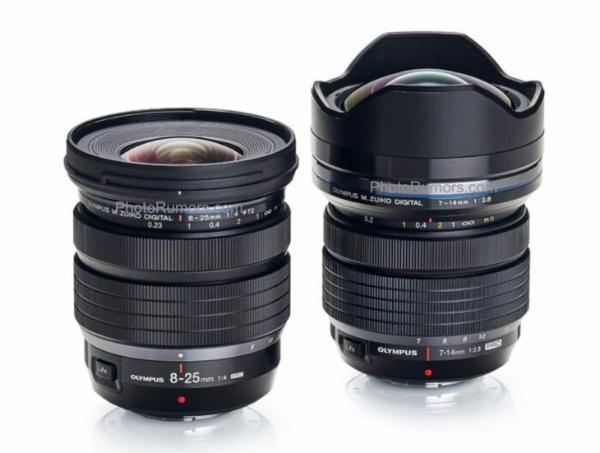 黄金焦段!奥林巴斯8-25mm F4 PRO镜头规格曝光