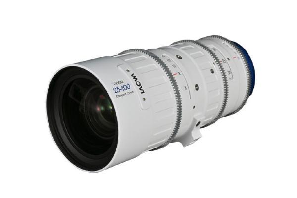 老蛙25-100mm t/2.9电影镜头白色版上市 售价不足4W元
