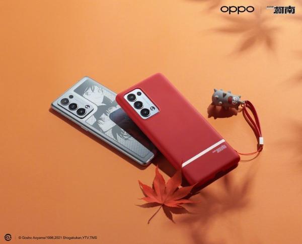 OPPO Reno6 Pro+名侦探柯南限定版即将开售 电致变色展现浪漫科技
