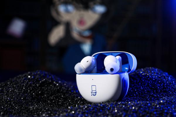 名侦探柯南限定版 OPPO Enco Free2真无线降噪耳机体验