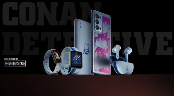 OPPO Reno6 Pro+柯南限定版今日开售,线上秒售罄!