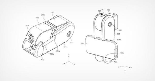 """靠磁力更换不同镜头 佳能""""手机架""""相机专利曝光"""