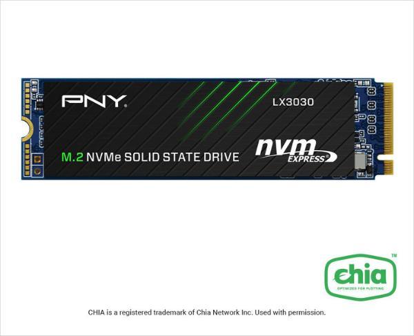PNY推出LX2030和LX3030固态硬盘