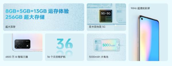 OPPO A93s开启预售,256GB大内存只需1999元